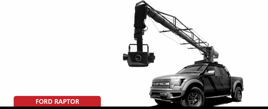 Ford Raptor -Russian Arm 5 -Flight head 5 - Filmotechnic USA